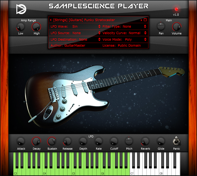 SAMPLE SCIENCE PLAYER - VST FREEWARE PLUGIN