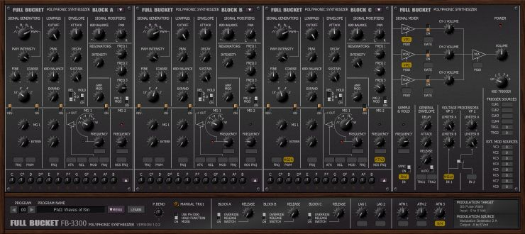 fb 3300 Vst plugin Emulation korg ps3300